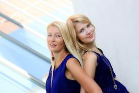 Hilde und Victoria Pohl