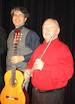 """Musik """" Callanish - Modern Folk Fantasies from Scotland and other countries"""", mit Eddie McGuire (Flöte), Stefan Grasse & Bert Lippert (Gitarren)"""