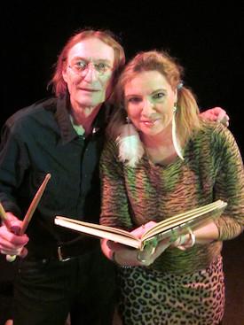Yogo Pausch und Anja Seidel