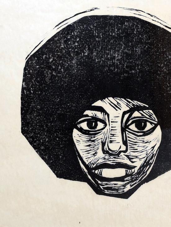 Linolschnitt von Dore Meyer-Vax