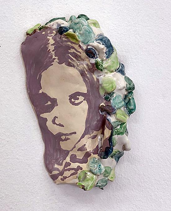 Hinter den Blättern - Keramik von Markus Putze