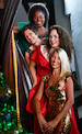 "Musik ""Joy to the world"" mit Andrea Baker, Tami Jantzi, Rebecca Martin & Hilde Pohl"